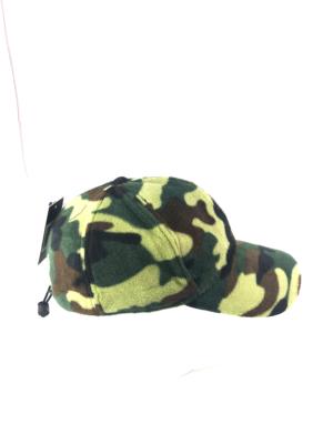 Cappello con visiera in pile mimetico 8810ee8510f7