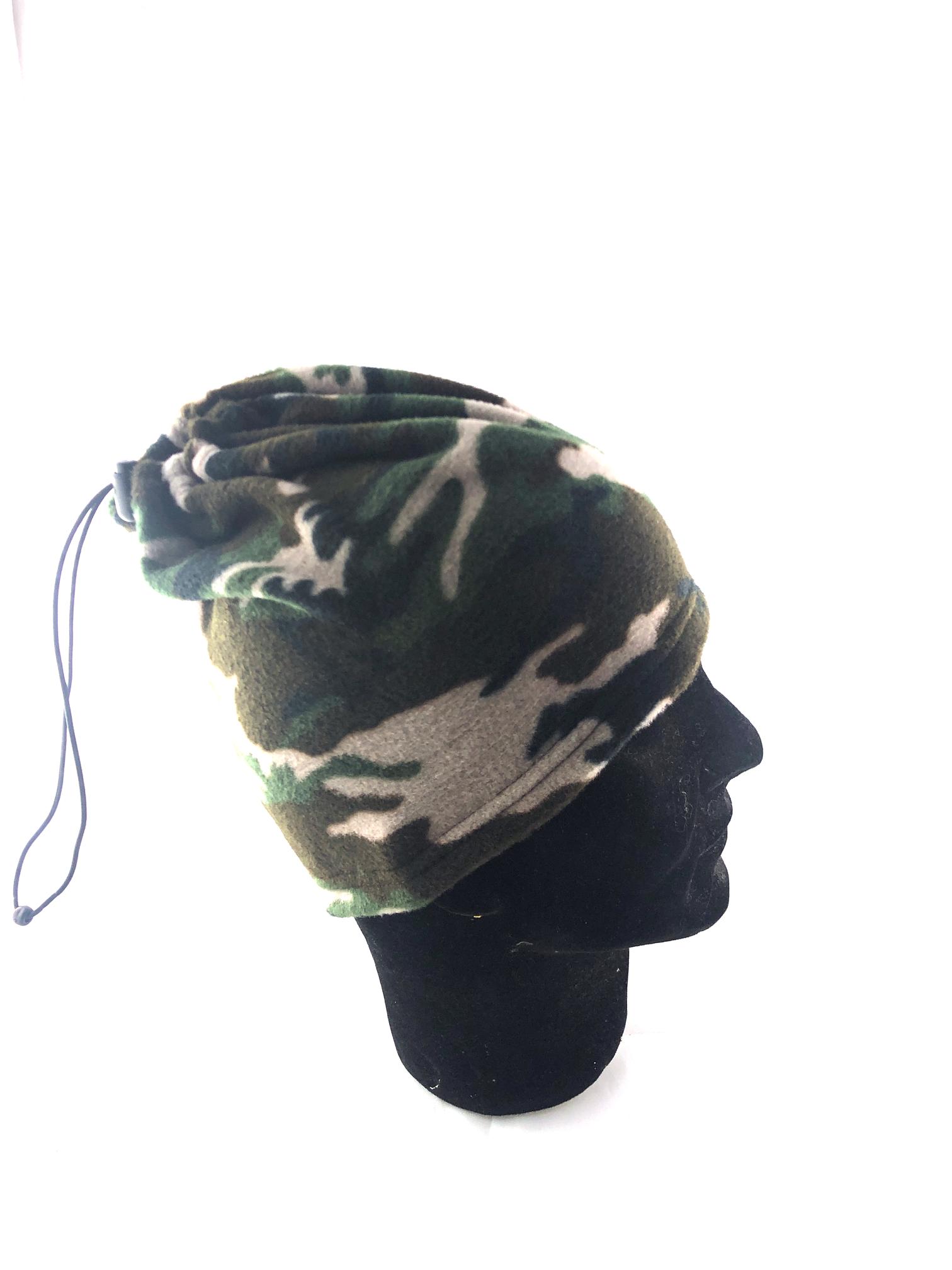 Cappello in pile mimetico - NEF Caccia 074f0d6c05a3